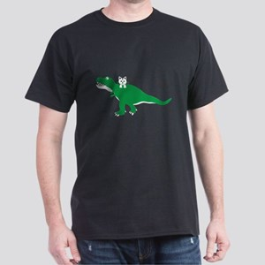 Cat Loves Dinosaur T-Shirt